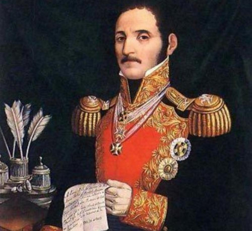 Rare 1826 Mexican-Masonic Document by Gen. Tornel