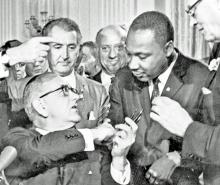 Outstanding Lyndon B. Johnson Letter: