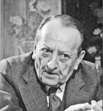 French Novelist Andre Malraux to Art Critic John Russell