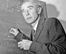 Scarce Letter by Atomic Physicist J. Robert Oppenheimer to a Physicist