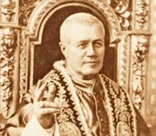 Pope Pius X Grants a Dispensation to the Patriarch of Venice