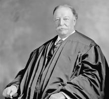 Chief Justice Taft Gets Defensive: