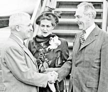Truman Praises His Sec. of State: