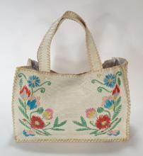 Paolo Masi Embroidered Tote
