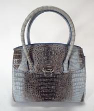 Crocodile Handbag by River
