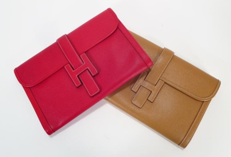 Hermes Box Jige GM H Clutch Bags