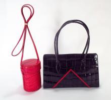 Donna Elissa & DKNY Skin Bags