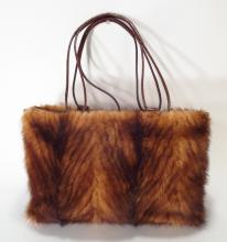 Paolo Masi Fur Trimmed Tote