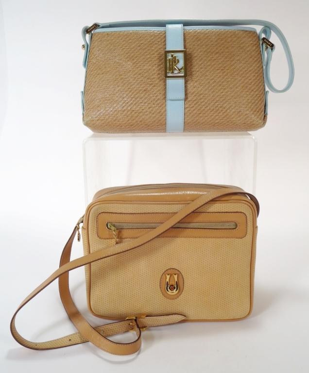 Caggiam & Ralph Lauren Handbags