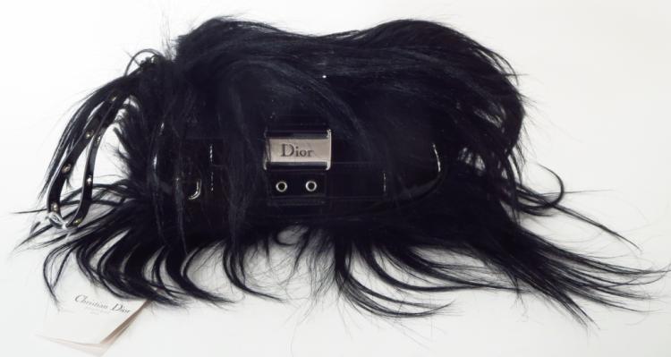Black Christian Dior Handbag