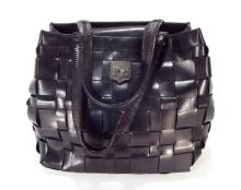 Kieselstein-Cord Woven Handbag