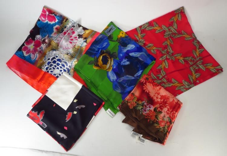 YSL Silk Scarf & Others