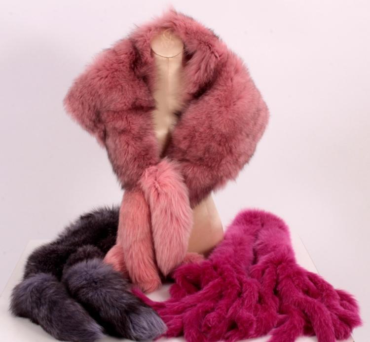 Purple, Pink, & Magenta Fur Accessories