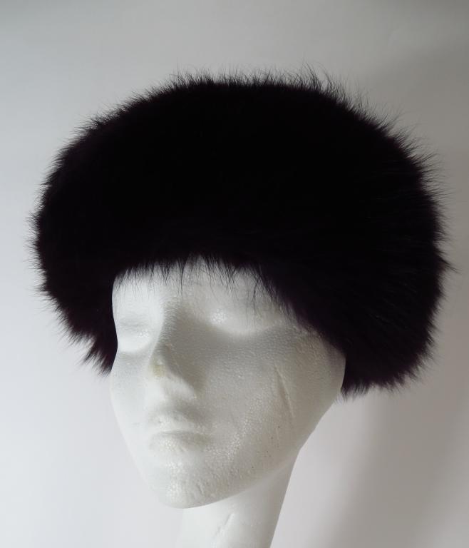 Black Sable Hat by D'Esti Inc