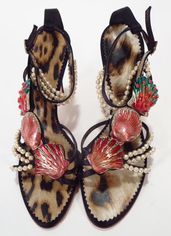 Roberto Cavalli Shell Sandals
