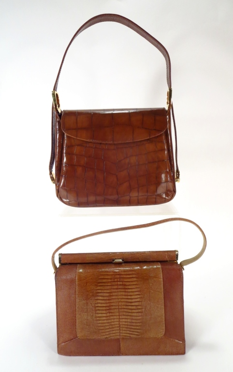 Vintage Brown Skin Handbags
