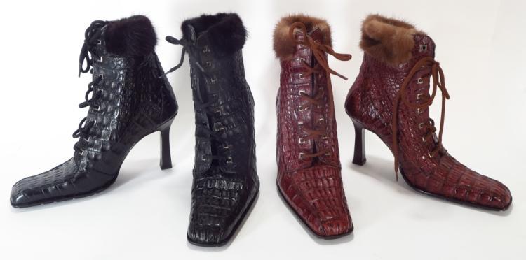 Mauri Crocodile Boots