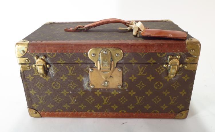 Louis Vuitton Vintage Train Case