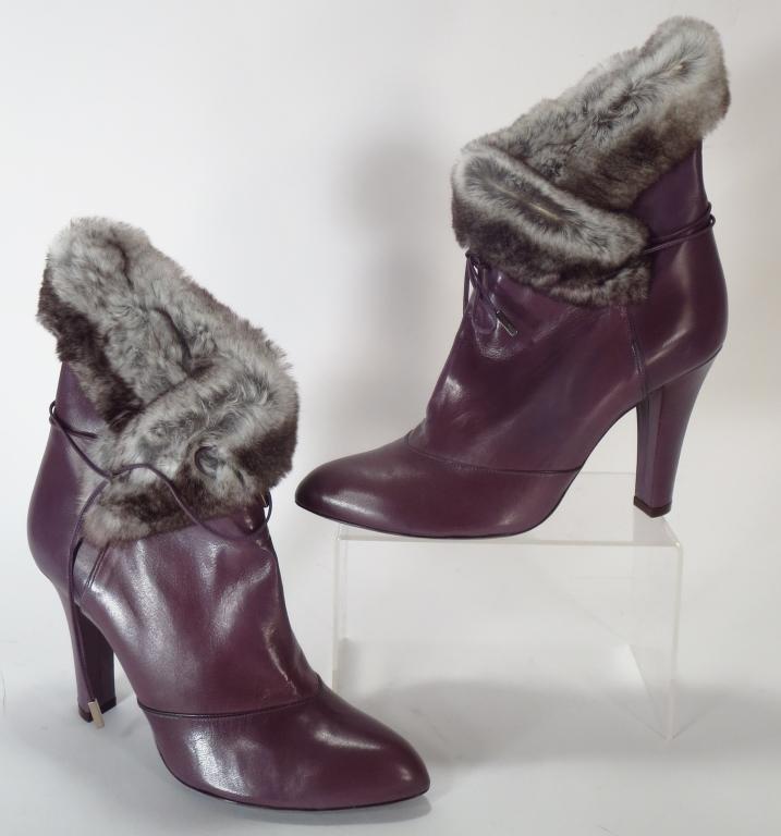 Marc Jacobs Purple Boots