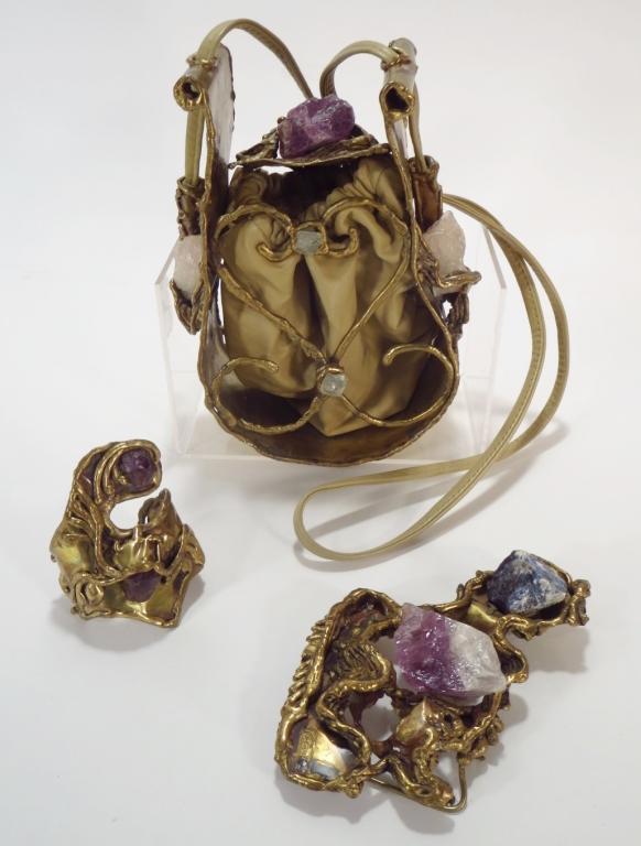 Vintage Brutalist Sevin & Cie Accessories