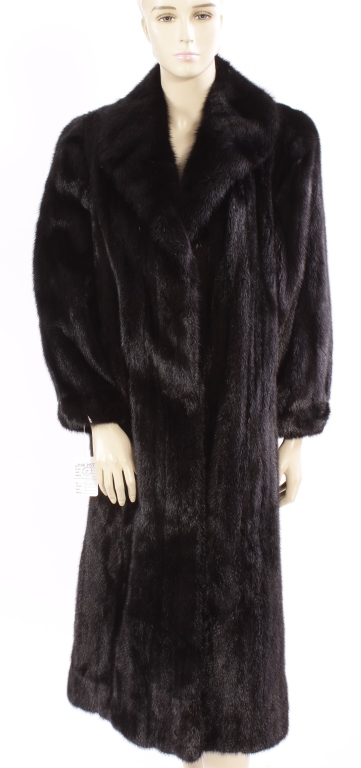 Christian Dior Black Mink Coat