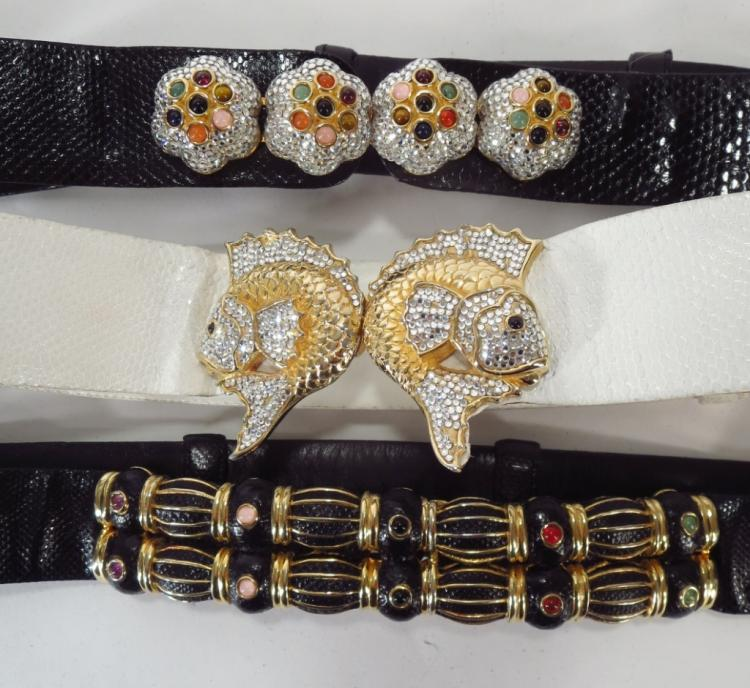 Leiber Fish Belt and Others