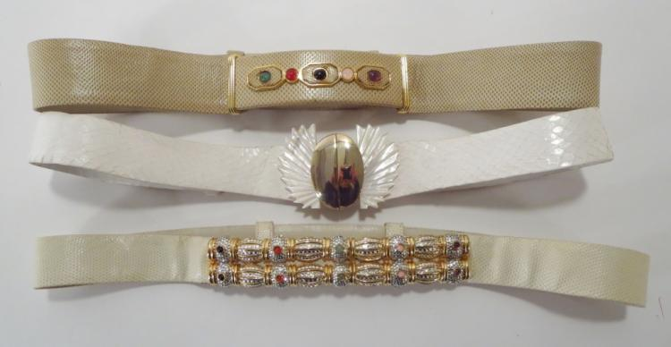 Judith Leiber Designer Belts