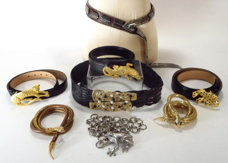 Figural Animal Designer Belts