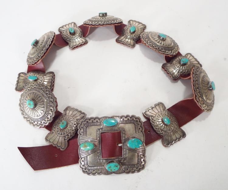 Concho Belt - Sterling