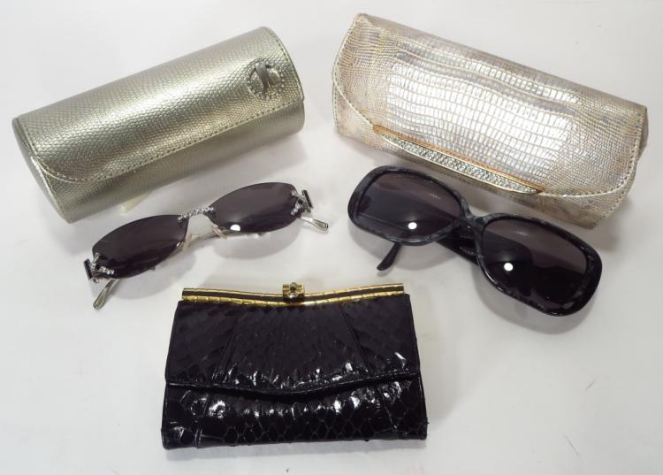Judith Leiber Sunglasses and Wallets