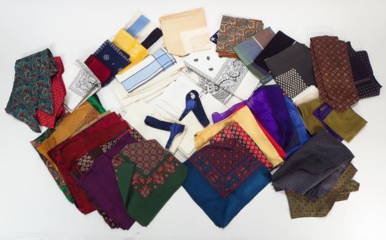 Mens Silk Ties, Scarves, & Pocket Squares