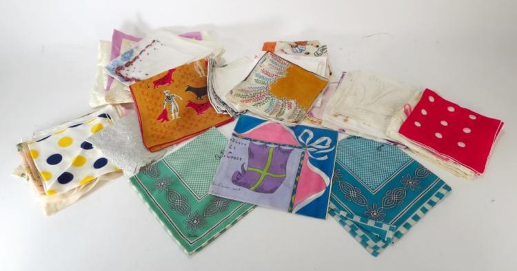 Lot of Vintage Handkerchiefs