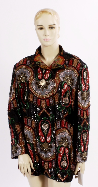Hanae Mori Beaded Jacket