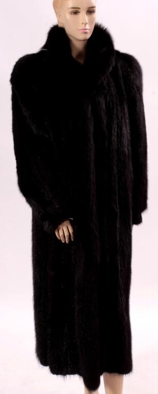 Dark Brown Fur Coat