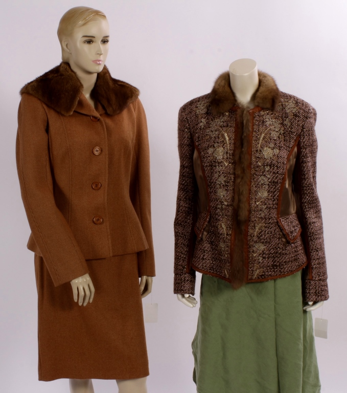 Dior Suit & R. Cavalli Jacket