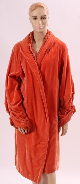 Vintage Silk Velvet Coat