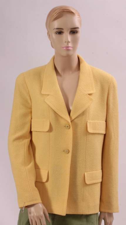 Yellow Chanel Blazer