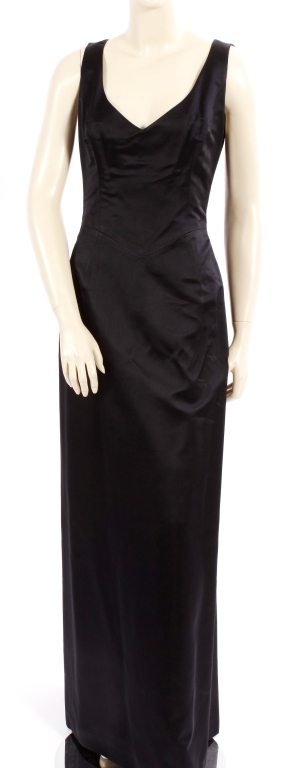 Richard Tyler Couture Black Gown