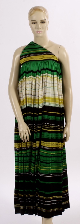 Vintage geoffrey beene one shoulder dress Fashion designer geoffrey