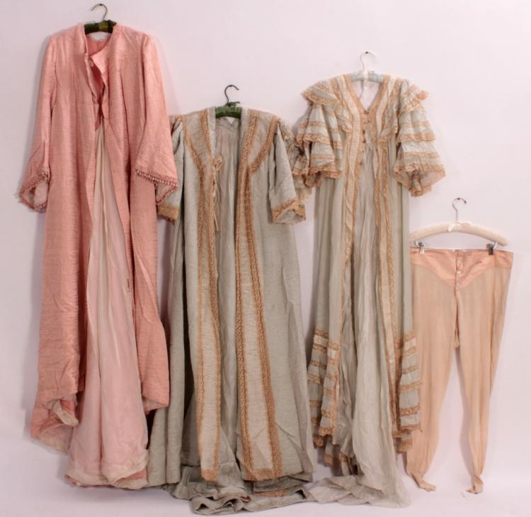 Antique chamber robes underthings for Chamber of couture