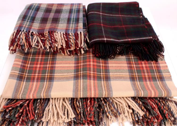 Tartan Plaid Blankets