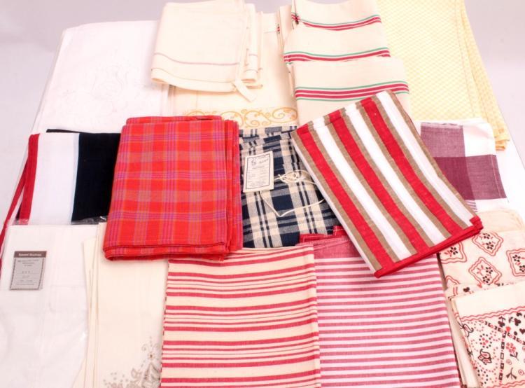 Fancy Guest Towels, Tea Towels & Frette