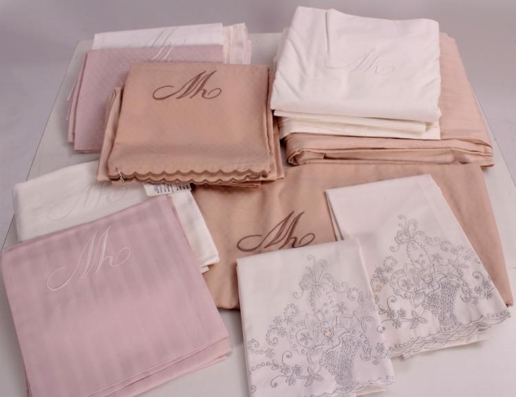 Monogrammed Duvet Covers & Shams