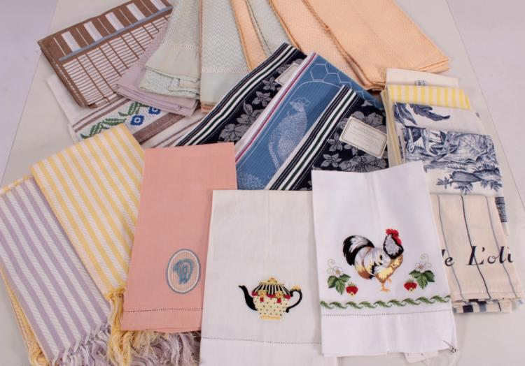 Embroidered & Jacquard Towels