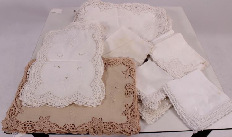 Lace & Linen Placemats
