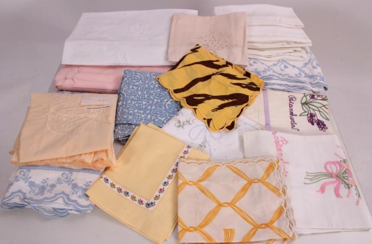 Frette, Tolra, Aurea & Sierra Bro. Bed Linens
