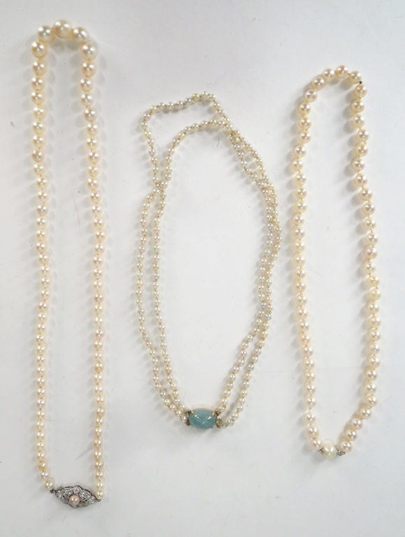 Three Strands of Pearls