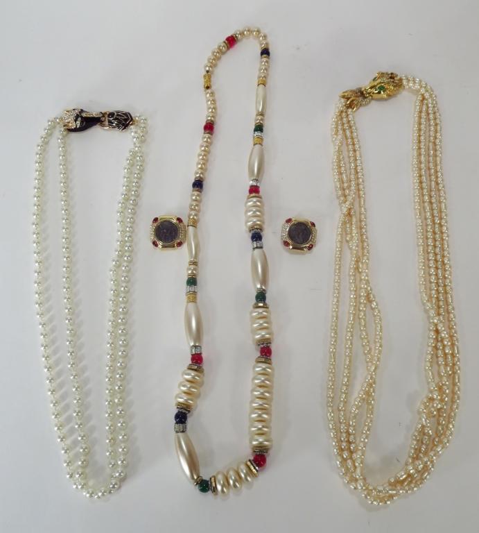 4 pcs of Ciner Jewelry