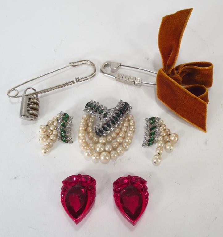 5 pcs of Christian Dior Jewelry