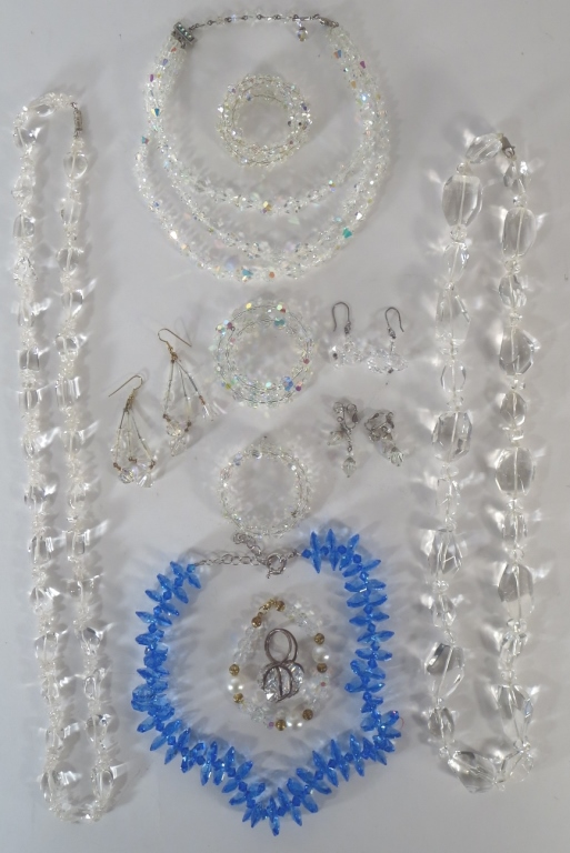 12 pcs of Crystal Jewelry